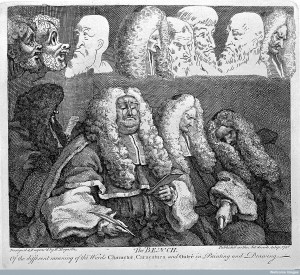 "Hogarth: ""Court of Common Pleas"", 1758 (Wellcome Images)"