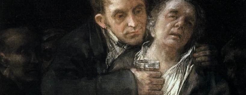 Francisco de Goya y Lucientes Self-Portrait with Doctor Arrieta in the Minneapolis Institute of Art  Francisco Goya [Public domain], via Wikimedia Commons